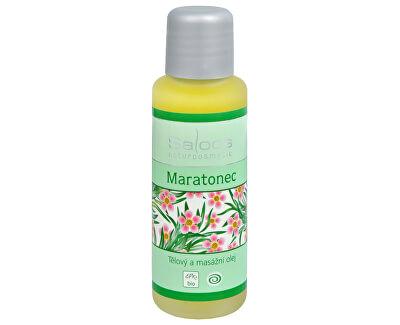 Saloos Bio telový a masážny olej - Maratónec
