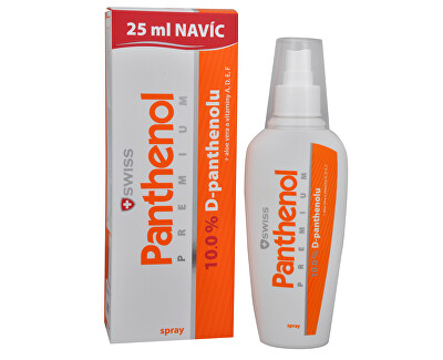 Panthenol 10% din PREMIUM elvețian - Spray 150 ml + 25 ml GRATUIT