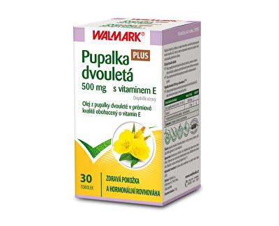 Walmark Pupalka dvouletá 500 mg s vitamínem E Plus 30 tob.