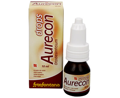 Herb Pharma Aurecon ušní kapky 10 ml