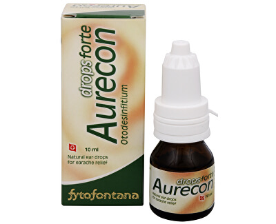Herb Pharma Aurecon ušné kvapky Forte 10 ml