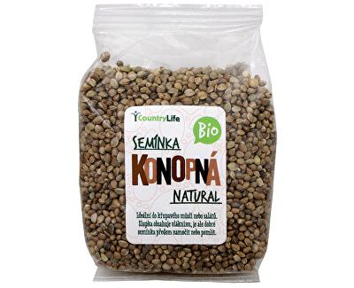 Country Life Bio Konopné semínko neloupané 250 g