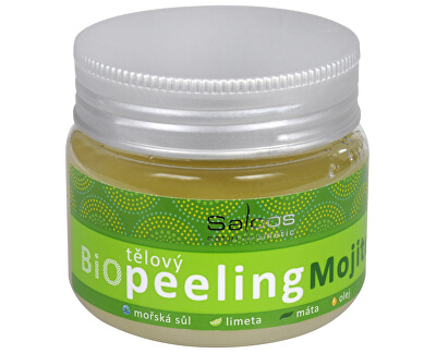 Saloos Bio Tělový peeling - Mojito 140 ml