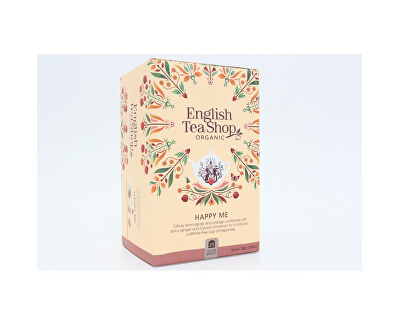 English Tea Shop BIO Wellness čaj - Štěstí 20 sáčků