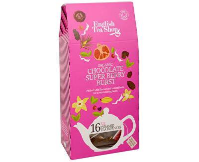 Čaj Čokoláda a super ovoce 16 pyramidek