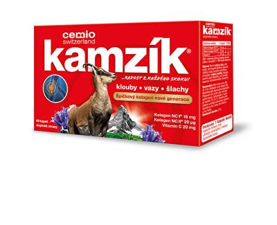 Cemio Kamzík kolagen  pentru  articulații  de 60 capsule