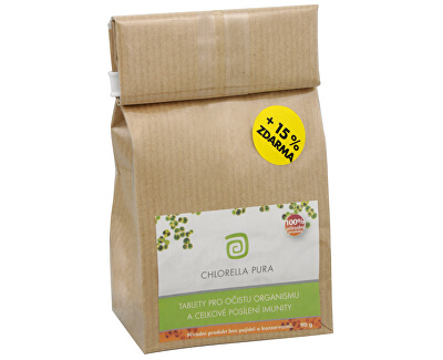 Chlorella Centrum Chlorella Pura 90 g + 13,5 g ZDARMA