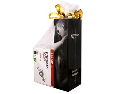 Natural Medicaments Dárkové balení - Eregma Max Power 100 tbl. + 20 tbl. ZDARMA + Erectan Exclusive intim gel 50 ml