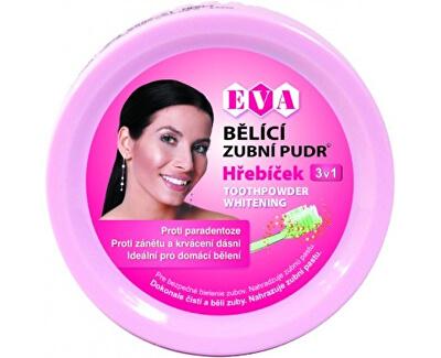 Eva Cosmetics Eva bělící zubní pudr (hřebíček) 3v1 30 g