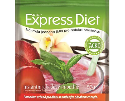 Good Nature Express Diet - instantná jahodový smoothie 59 g