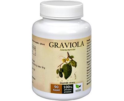 Natural Medicaments Graviola anona (Annona muricata) 90 kapsúl