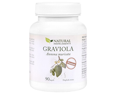 Graviola anona (Annona muricata) 90 kapsúl