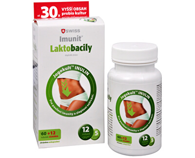 Simply You Imunit Swiss Laktobacily 60 tob. + 12 tob. ZDARMA