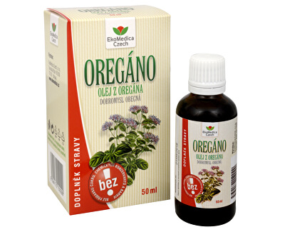 EkoMedica Czech Oregáno (Pamajorán obyčajný) - olej 50 ml