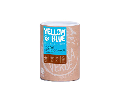 Yellow & Blue Prášok z mydlových orechov v bio kvalite