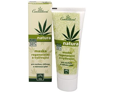 Regeneračné a vyživujúce maska Natura 75 g