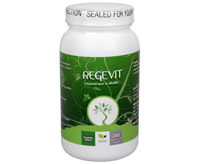 Natural Medicaments Regevit 200 kapslí