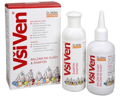 Dr. Muller VšiVen balzam 150 ml a šampón 150 ml