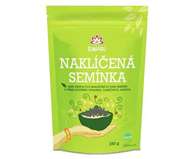 Iswari Bio Zmes naklíčených semienok pohánka - slnečnica - quinoa 250 g