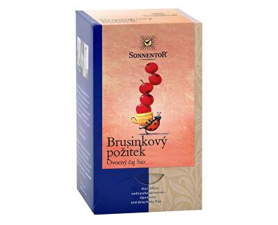 Sonnentor Bio Brusinkový požitek čaj porc. dvoukomorový 50,4g (18sáčků)