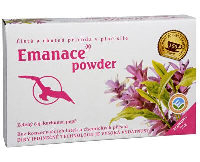 Phoenix Division Emanace powder - zelený čaj, kurkuma, pepř 75 g