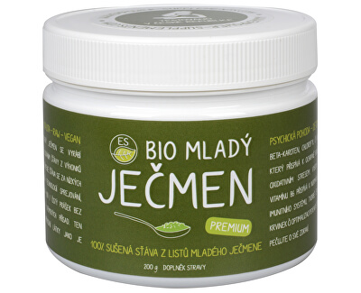Empower Supplements ES BIO Mladý jačmeň Premium 200 g