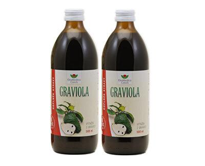 Graviola - výťažok z gravioly 500 ml + 500 ml