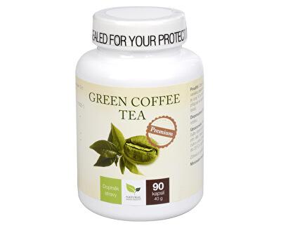 Natural Medicaments Green Coffee Tea 90 kapsúl