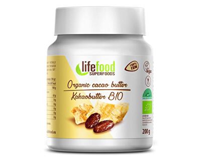 Lifefood Bio Kakaové máslo nepražené 200g