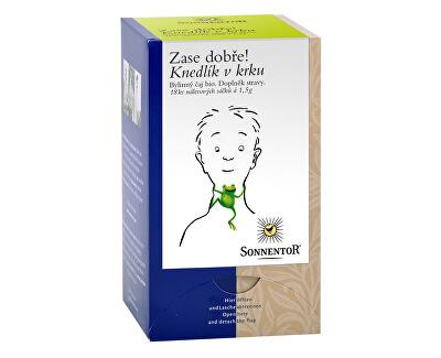 Sonnentor Bio Knedlík v krku - bylinný porc.čaj dvoukomorový 27g