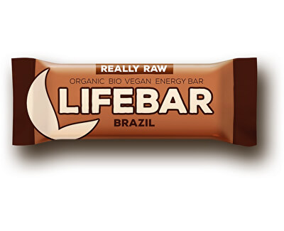 Lifefood Bio tyčinka Lifebar brazilská 47g