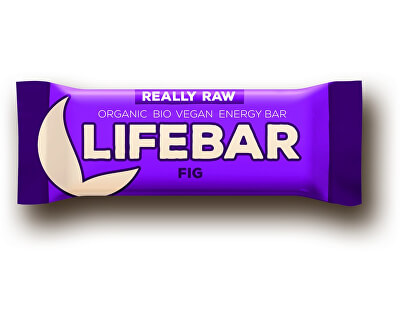 Lifefood Bio tyčinka Lifebar fíková 47g