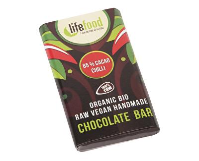 Lifefood Bio Lifefood mini čokoládka s chili 15g