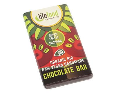 Lifefood Bio Lifefood mini čokoládka se zelenou kávou a guaranou 15g