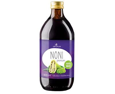 Allnature Noni Premium - 100% Bio šťáva 1000 ml