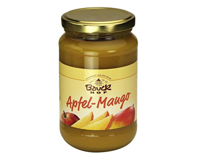 Bauck hof Bio Ovocné pyré Jablko+Mango - neslazené 360 g