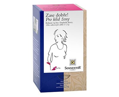 Sonnentor Bio Pro klid ženy - bylinný porc.čaj dvoukomorový 27g