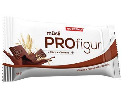 Nutrend Profigur Müsli Čokoláda 33 g