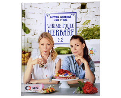 Knihy Vaříme podle herbáře 2 (Kateřina Winterová, Linda Rybová)