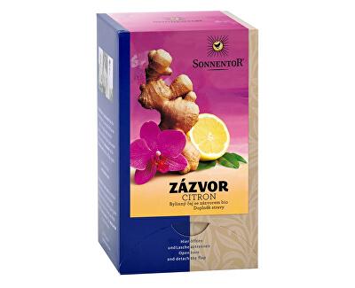 Sonnentor Bio Zázvor - citron čaj s kořením porc. dárkový 30g (20sáčků)