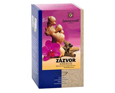 Sonnentor Bio Zázvor - energie čaj porc. dárkový 30g (20sáčků)