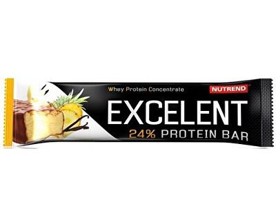 Nutrend EXCELENT protein bar 85g, vanilka s ananasem