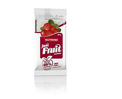 Nutrend Just fruit 30g brusinka
