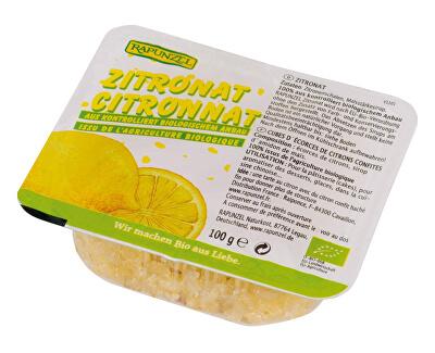 Rapunzel Bio Kandovaná citrónová kůra 100g