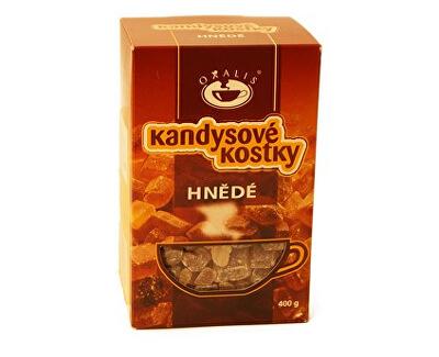 OXALIS Kandysové kostky hnědé 400g