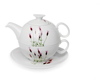 OXALIS Levandule - tea for one souprava