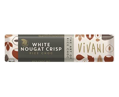 VIVANI Bio tyčinka Nugátová bílá s rýžovým mlékem 35g