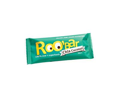 Roobar Bio tyčinka Roobar Datlová s chia a kokosem 30g RAW