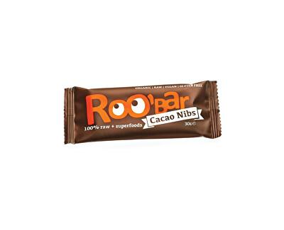 Roobar Bio tyčinka Roobar Kakaová s mandlemi 30g RAW