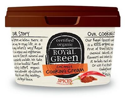 Royal Green Royal Green BIO kokosový olej bez vůně Chilli a Paprika 250ml